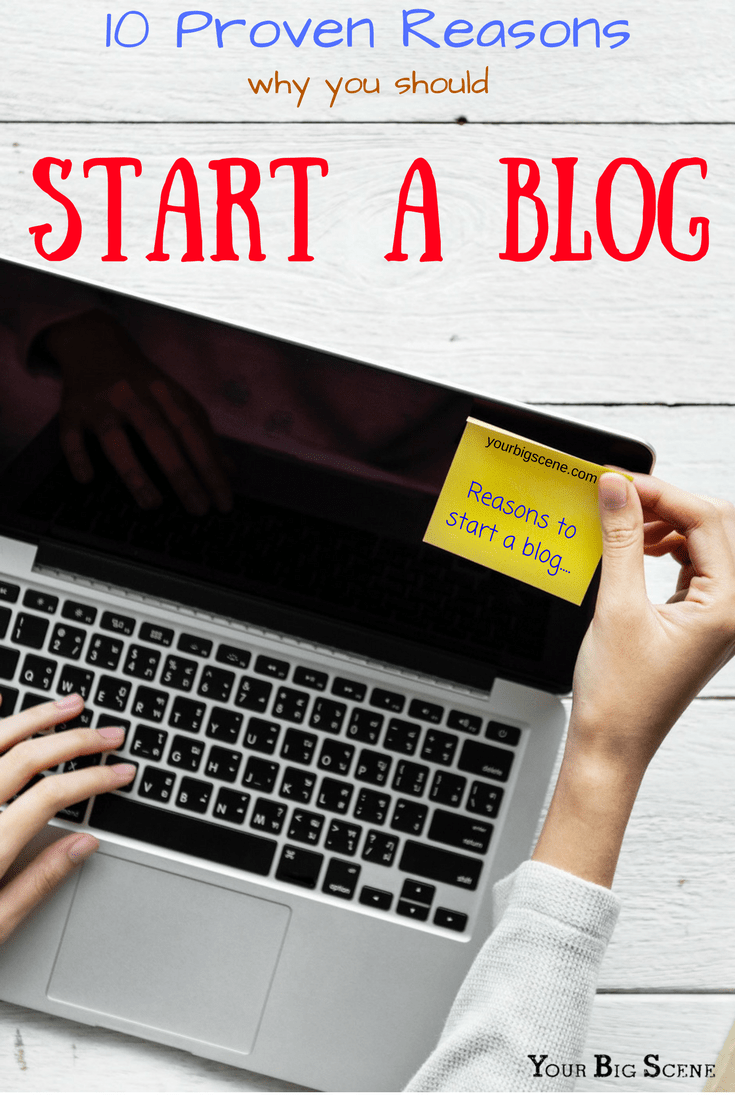Reasons why you should start a blog. Blogging can change your life in so many ways!