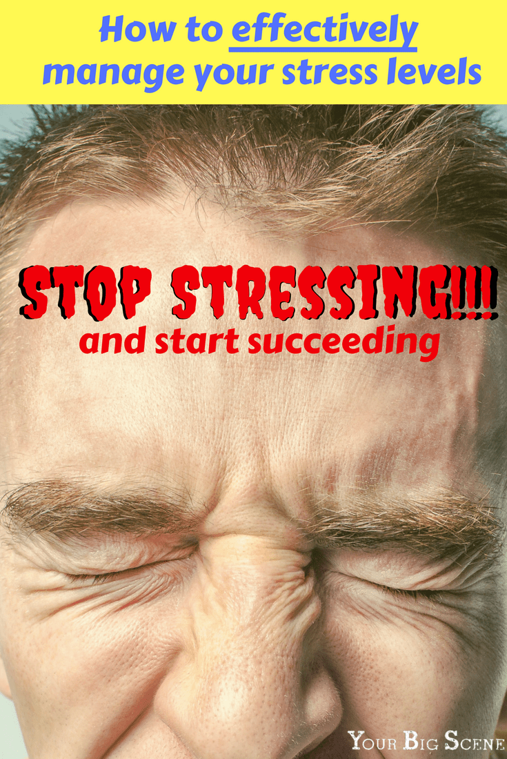stop stressing and start succeeding. learn how you can effectively manage you stress